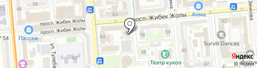 Optimizator на карте Алматы