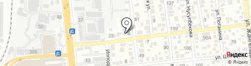 Испандияр, магазин разливного пива на карте Алматы