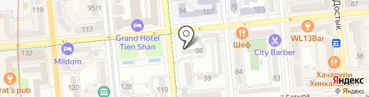 Brilliant на карте Алматы