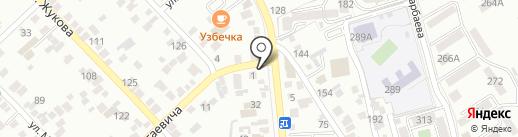 Эспрессо Мастер на карте Алматы