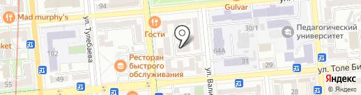 Айкидо Айкикай, Нишио Тохо Иайдо на карте Алматы