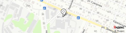 Ремонт путевой техники, ТОО на карте Алматы