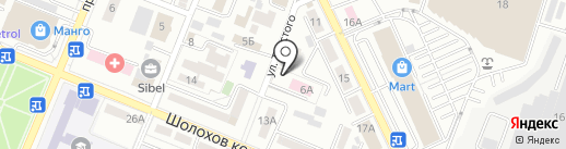 Скорая медицинская помощь на карте Алматы