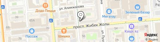 The SULTANS на карте Алматы
