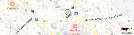 Кипрос на карте Алматы