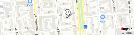 NUR AR GROUP на карте Алматы