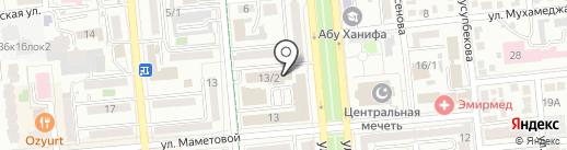 Кефар Кенес Фарма на карте Алматы