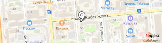 Golden Tour Kazakhstan на карте Алматы