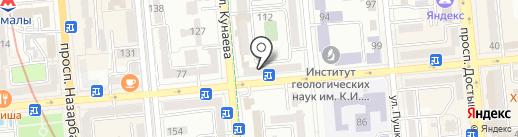 VIA ROMA на карте Алматы