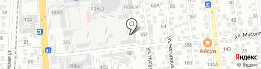 DiAmir на карте Алматы