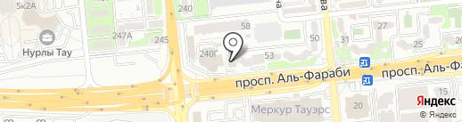 Nailfie.kz на карте Алматы