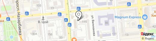 Научно-экпериментальное производство, ТОО на карте Алматы