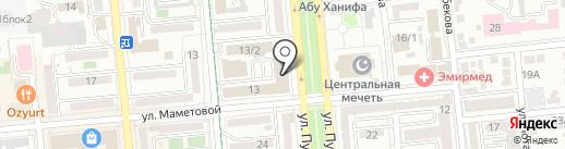 Гранд Атлас на карте Алматы
