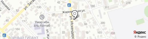 Генеральное Консульство Литовской Республики в г. Алматы на карте Алматы