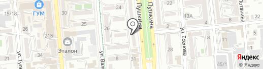 Gold Center Ломбард, ТОО на карте Алматы