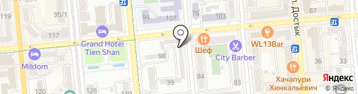 THE GARDEN на карте Алматы