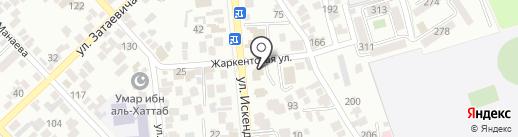 Генеральное консульство Республики Польша в г. Алматы на карте Алматы