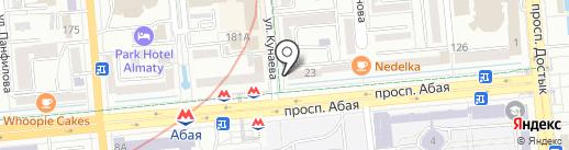 Zeider на карте Алматы