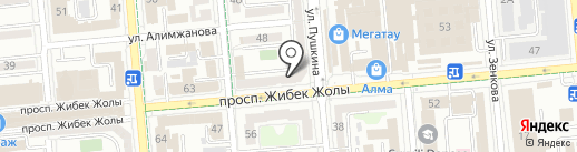 Kraft Print на карте Алматы