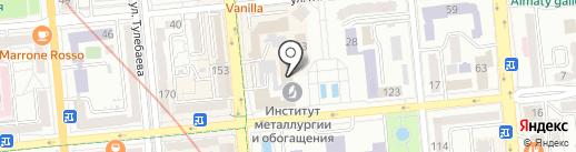 Казатопром-Сорбент, ТОО на карте Алматы