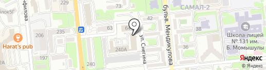 Казахтелеком на карте Алматы
