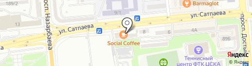 Petit Bateau на карте Алматы