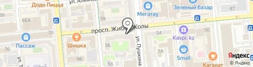 Mebel Interior на карте Алматы