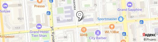 Республиканский эстрадно-цирковой колледж им. Ж. Елебекова на карте Алматы