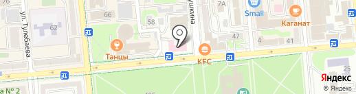 Городская поликлиника №1 на карте Алматы