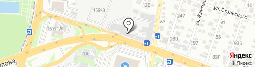 Контур на карте Алматы