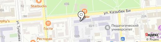 Kazproftech на карте Алматы