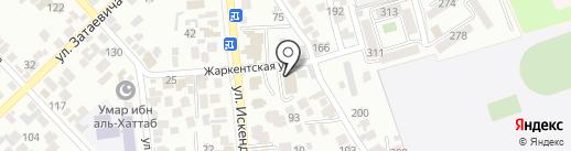Standard Insurance на карте Алматы