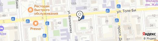 Общество инвалидов Медеуского района на карте Алматы