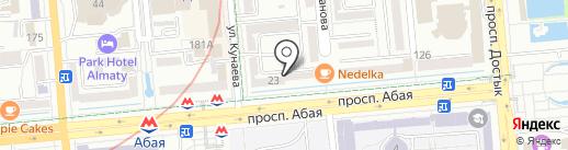 Алатау-Exchange, ТОО на карте Алматы