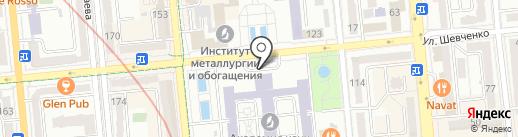 Музей археологии на карте Алматы
