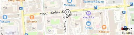 Арника на карте Алматы