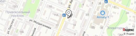Магазин игрушек на карте Алматы