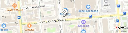 Бриллиант на карте Алматы