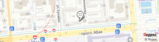 Хука KZ на карте Алматы