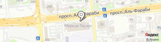 Prospect на карте Алматы