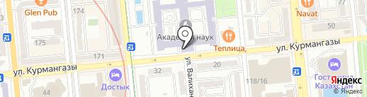 Ғылым Ордасы на карте Алматы