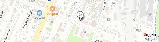 Городской родильный дом №4 на карте Алматы