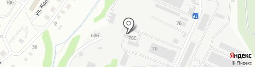Fosser на карте Алматы