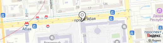 Банкомат, Altyn Bank на карте Алматы