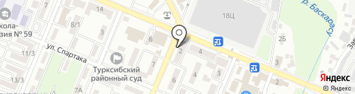 Адлен на карте Алматы