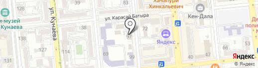 Управление по обслуживанию дипломатического корпуса МИД Республики Казахстан на карте Алматы