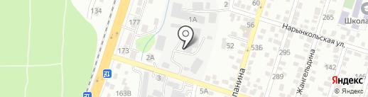 Корпорация Астана-стройинвест, ТОО на карте Алматы