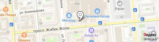 Бутик сумок на карте Алматы