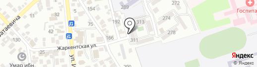 Городок МВД на карте Алматы