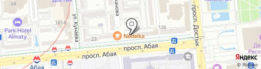 Crudo на карте Алматы